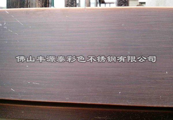 红古铜拉丝不锈钢板|仿古铜拉丝板