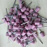 带柄磨头 12*15*3*37MM 圆柱型陶瓷磨头
