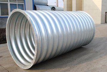 金属波纹管涵型号齐全,质量保证
