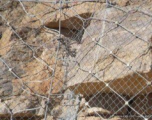 sns柔性防护网,边坡防护网
