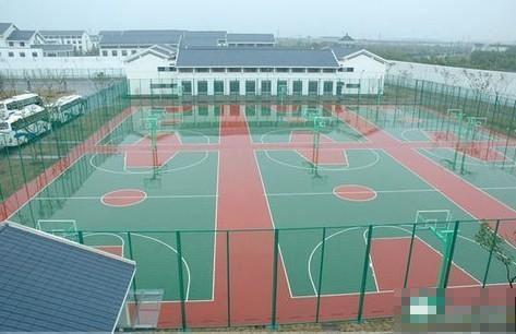 上海塑胶跑道施工 幼儿园塑胶跑道施工