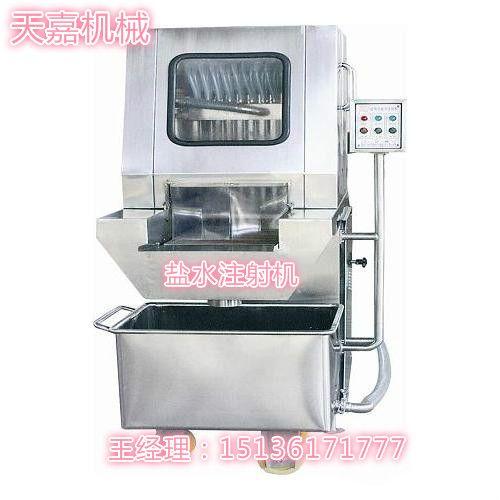 郑州天嘉 YZ-80型 供应带骨盐水注射机 手动盐水注射专业