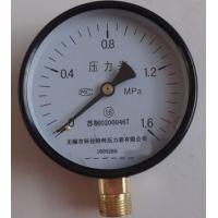 弹簧管压力表型号规格