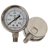 不锈钢压力表型号规格,量程