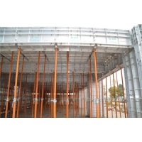 高端循环使用200以上的绿色建筑铝模板