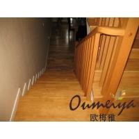 欧梅雅木业 实木 扶手楼梯