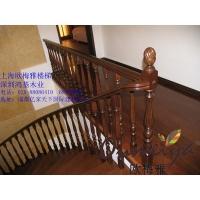 欧梅雅木业 扶手 楼梯 临河别墅二楼