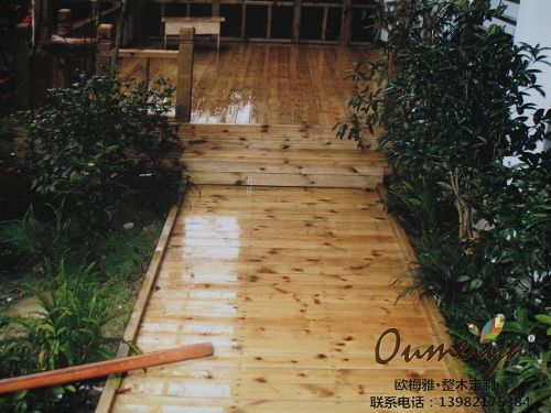 樟子松板材防腐木