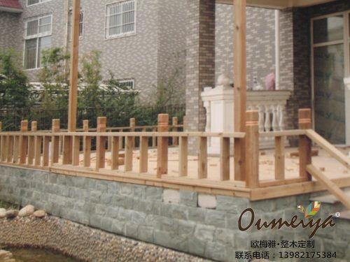 美国南方松板材防腐木