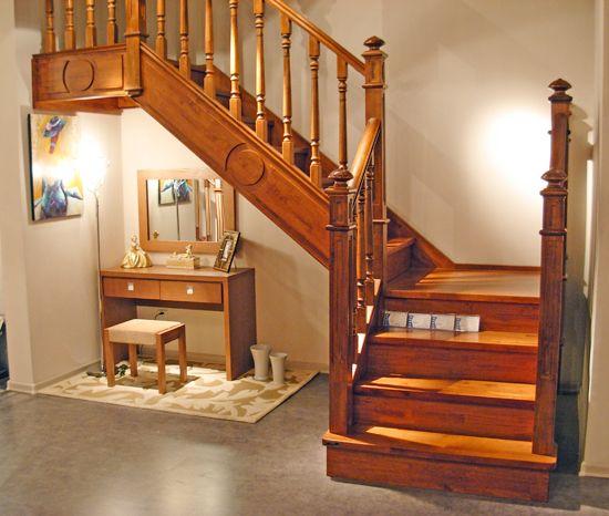 欧梅雅整木定制:别墅楼梯设计风水禁忌——让好运跟随