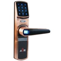 中国结智能锁指纹锁防盗门指纹密码锁