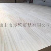 松木指接板 新西兰辐射松拼板 齿接板 实木家具板  15厘