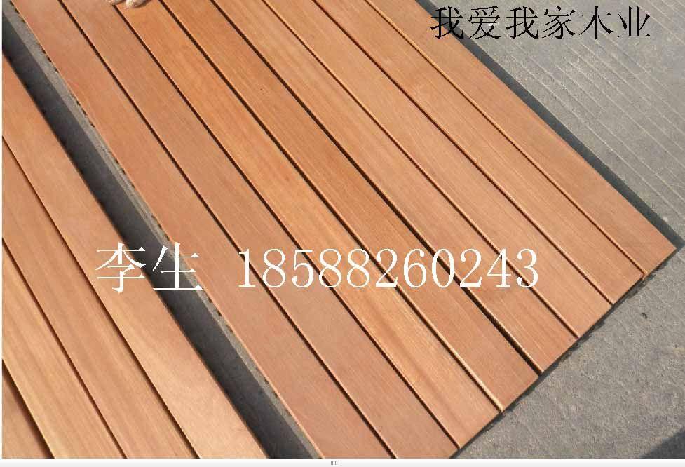 巴劳 玉檀 梢木户外防腐实木地板