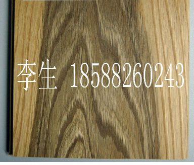 北美欧洲白橡木烟熏高清纹路三层实木复合地板