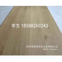 超大尺寸、规格橡木拉丝地板、简欧风格多层实木复合地板大板