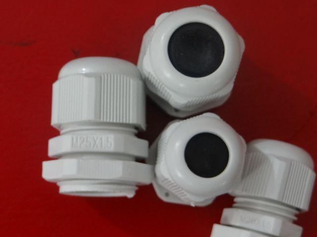 尼龙电缆密封接头m25尼龙电缆防水固定头 防水电缆接头