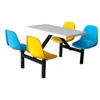 学校餐桌,食堂餐桌,玻璃钢餐桌