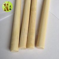竹木化妆刷 油画笔清洁刷 竹刷柄材料竹方料竹圆棒