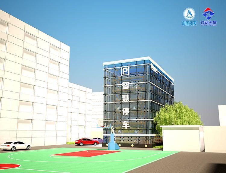 垂直循环类停车设备功能完善  效果一流