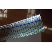 2寸图纸下水管无毒抗冻型透明PVC钢丝管水泵木梳手工塑料的做图片