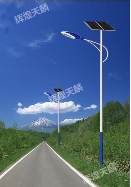 农村6米20WLED太阳能路灯