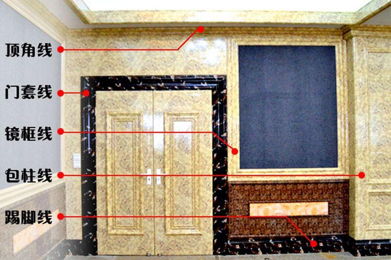仿大理石装饰线条室内门窗套线