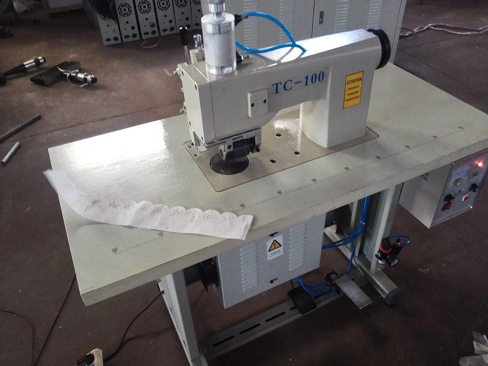 大功率100MM超聲波花邊機 臺布壓花機 過濾袋焊接機 15-- 騰超