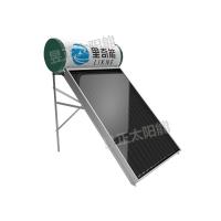 里奇能家用平板太阳能热水器
