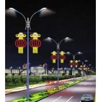LED双向发光灯笼造型灯 路灯杆造型灯春节亮化