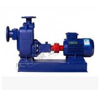 自吸式无堵塞排污泵 型号 32ZW10-20 卧式轴联杂质泵