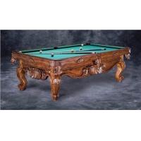 艺术雕刻台球桌