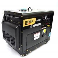 带水泵专用5000W发电机 5000瓦发电机