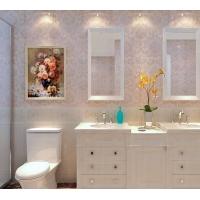 菲象卫生间瓷砖仿墙纸墙砖釉面砖厨房防滑地砖厕所地板砖300*