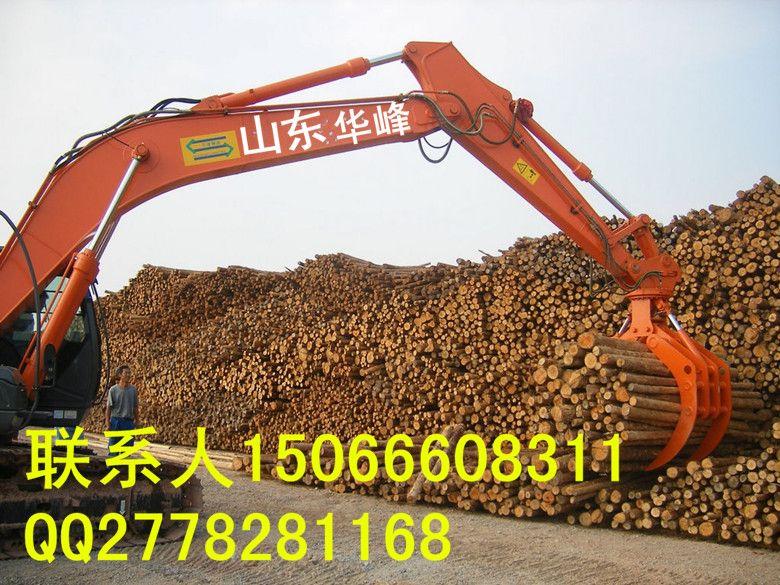 挖掘机液压360旋转抓木器国际质量认证图片
