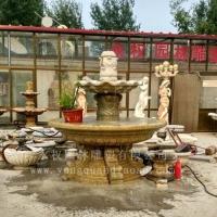 石雕跌水喷泉 石雕跌水喷泉