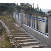 武汉铁艺护栏 锌钢护栏 围墙栏杆 包安装