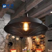 工业吊灯创意个性美式艺术咖啡复古客厅餐厅卧室吧台有趣铁艺