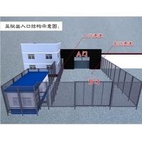 安徽监狱门,看守所大门,监狱电动大门