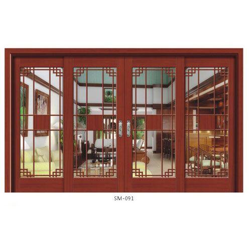 香木缘-实木玻璃门系列