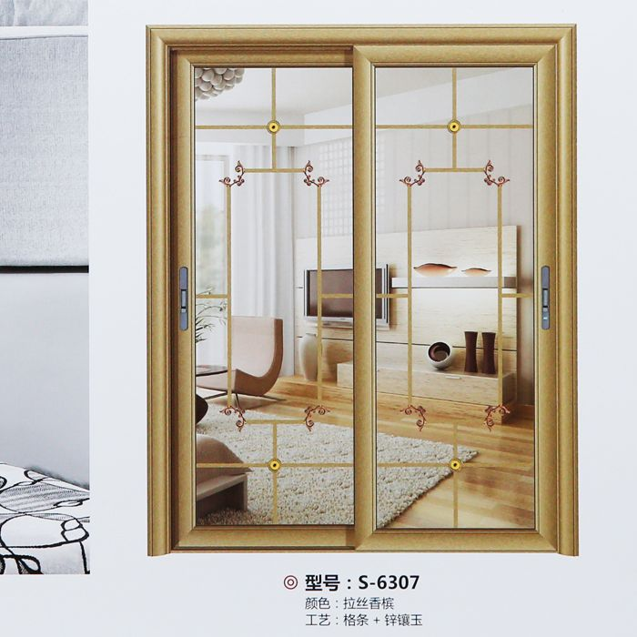 南京移门厂-80银弧推拉门系列-南京朗润门业