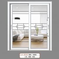 南京移门厂-85平弧推拉门系列-南京朗润门业