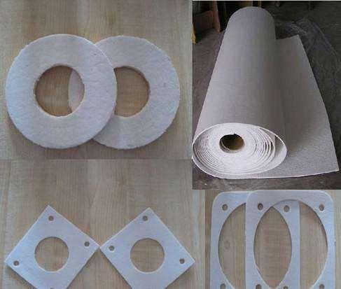 耐高温硅酸铝纸 吸音硅酸铝纸 保温隔热陶瓷纤维纸