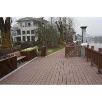 连云港塑木地板防腐室外地板 耐磨木平台板木塑板