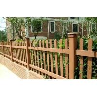 常州塑木护栏立柱100*100仿木围栏立柱横梁