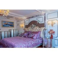 益阳兰舍硅藻泥卧室效果图 欧式美式卧室