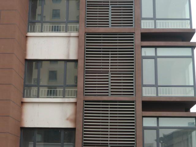 百叶窗铝合金百叶窗空调通风口百叶窗