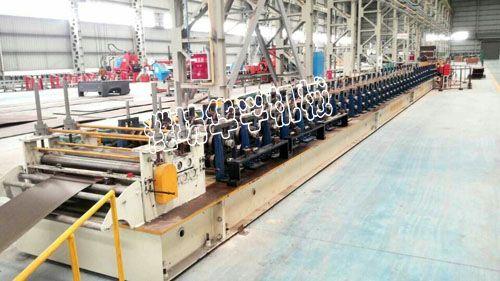 0电缆桥架成型设备生产线的工艺流程及设备-潍坊HF电缆桥架成型设备