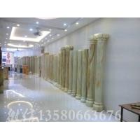 天然玉石圆柱、罗马柱