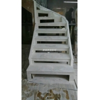美国杜邦可丽耐人造石异形楼梯
