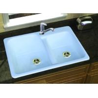 铸铁搪瓷水槽(双槽)